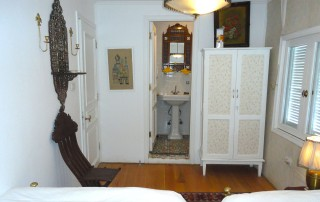 Each cabin has an en-suite bathroom
