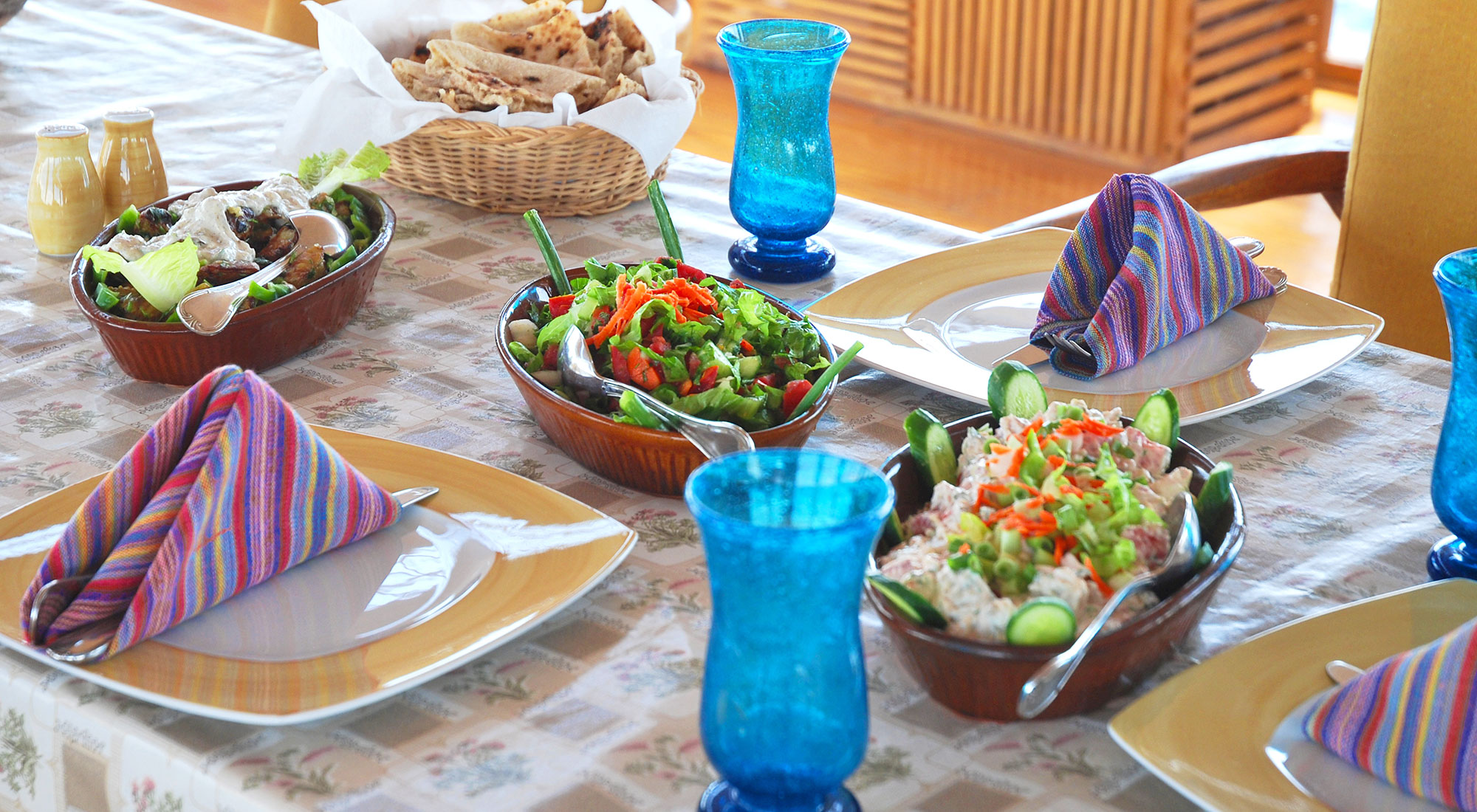 Authentic dishes with Egyptian and Mediterranean-inspired flavours