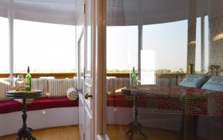 Dahabiya The Orient is fitted with one spacious suite with a private terrace