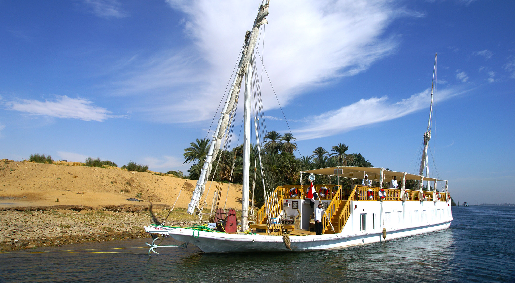 Dahabiya Nile cruise from Aswan to Luxor